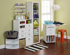 Go-Organize Company: selling affordable recollections style Craft Room Furniture Storage Ideas | Stacking Storage