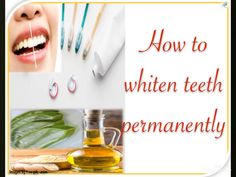 Whiten your teeth permanently. Aloe Vera For Skin, Aloe Vera Gel, Teeth Images, Teeth Whitening Diy, Life Hacks, Beauty Hacks, Facial, Remedies, Skincare