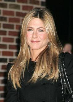 Jennifer Aniston, i try and try to get my hair like hers. absolutely love her.