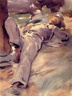 John Singer Sargent, Pater Harrison Completion, c.1905 on ArtStack #john-singer-sargent #art