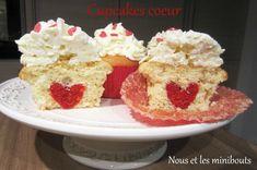 Mercredi C'est Pâtisserie! - Cupcake vanille/topping Philadelphia avec une surprise à l'intérieur!