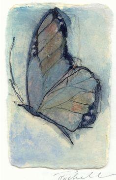 butterfly @Gail Regan Truax://www.etsy.com/listing/57796659/butterfly-card