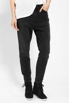 #UrbanOutfitters          #Women #Bottoms           #bdg #high-rise #slight #content #cropped #5-pocket #inseam #spandex #relaxed #ankle #fly #thigh #hip #exclusive #skinny #jean #cut #stretch #leg #length #cotton #zip #care          BDG Low-Slung Skinny Jean - Black                   5-pocket skinny jean from BDG with a dropped inseam. Cut with a relaxed hip and thigh with a skinny, tapered, cropped leg. Slight stretch. Sits at the hip with a high-rise. Zip fly; ankle length. UO Exclusive…