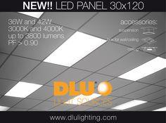 NEW LED Panel 30x120 cm
