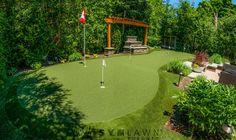 SYNLawn custom putting green - by SYNLawn Toronto West.
