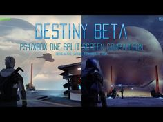 Destiny Beta: Xbox One and PS4 Split Screen Video Comparison [HD] WWW.INFINITEMARKETING.INFO