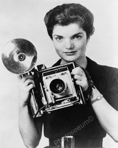 Jacqueline Kennedy Onassis Camera Shoot Vintage 8x10 Reprint of Old Photo | eBay