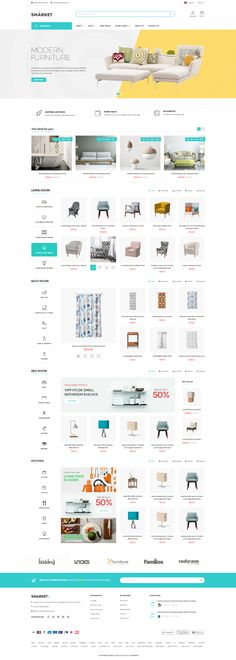 Buy SMarket Ecommerce PSD Template by snstheme on ThemeForest. Smarket Ecommerce PSD designed for supermarket or shopping mall store that have large size of products. Free Ecommerce, Ecommerce Web Design, Ecommerce Template, Psd Templates, Mall Stores, Shopping Sites, Mall Design, Logo Design, Amazing Website Designs