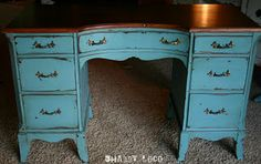 1000 Images About Painted Desks On Pinterest Painted