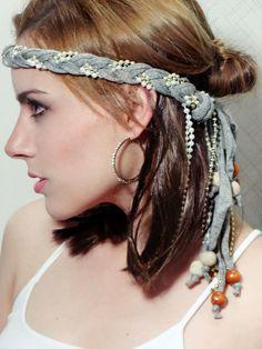#karline #headband #hippie #boho #chic #folk #gypsy #60's #70's #hair