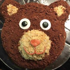Motif cake bear for kids birthday - Food - Kuchen Kids Birthday Gifts, Mom Birthday, Bear Birthday, Muffin Recipes, Cake Recipes, Food Cakes, How To Cook Pasta, Cooking Time, Amazing Cakes