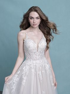 25583 - Chenille - That back! OMG!  Try this beauty on at Aurora Bridal in Melbourne, FL 321-254-3880