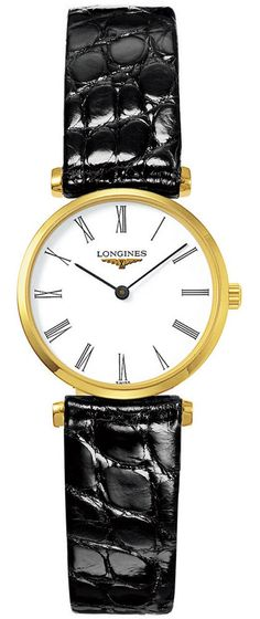 Longines Watch La Grande Classique de Longines Ladies #bezel-fixed #bracelet-strap-alligator #brand-longines #buckle-type-tang-type-buckle #case-depth-5mm #case-material-yellow-white-gold #case-width-24mm #delivery-timescale-1-2-weeks #dial-colour-white #gender-ladies #luxury #movement-quartz-battery #official-stockist-for-longines-watches #packaging-longines-watch-packaging #sku-lng-207 #subcat-la-grande-classique-de-longines #supplier-model-no-l4-209-2-11-2…