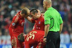 Ribéry & Robben, not so friendly