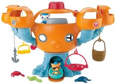 1 set  original Octonauts Oktopod Splelset figure toy  Chinese Edition child Toys