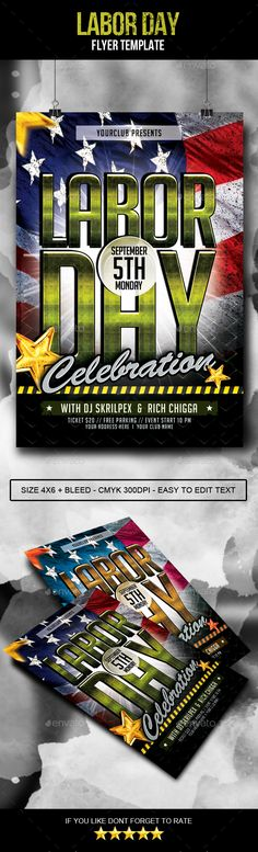 Lounge Flyer Template Glow, Print and Flyer template - benefit flyer templates