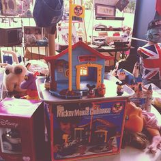 Love this #mickeymouseclubhouse from my childhood I saw at a flea market this weekend!!
