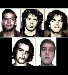 The Ripper Crew consisted of Robin Gecht (who once worked for John Wayne Gacy), Edward Spreitzer, and brothers Andrew & Thomas Kokoraleis. They murdered 18 women from 1981-1992. They would pick up prostitutes, cut off 1 breast, rape the open wound and masturbate on it, then cut up the breast & eat it. Gecht was sentenced to 120 years in prison, Andrew Kokoraleis was executed in 1999, & Thomas Kokoraleis & Edward Spreitzer were sentenced to life.