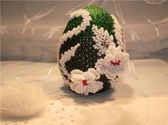 белые цветы | biser.info - всё о бисере и бисерном творчестве