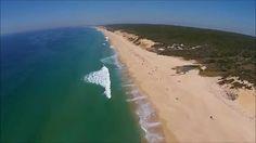 Praia da Aberta Nova - Melides (DJI Phantom 2 Vision Plus)