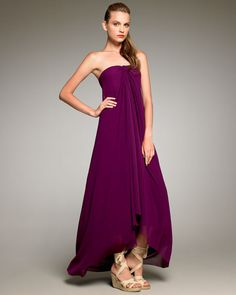 Beautiful trapeze maxi dress if pregnant and need a dress for an occasion