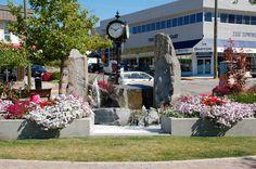 Ross Street Fountain downtown Salmon Arm Fountain, Salmon, The Neighbourhood, Sidewalk, Arm, Canada, Street, The Neighborhood, Arms