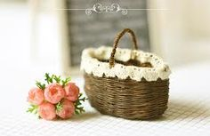 miniature basket tutorial - Google Search
