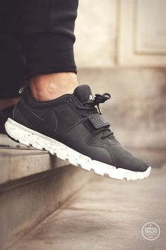 official photos 90c13 53902 Nike SB Trainerendor - Black (by Animal Tracks) – Sweetsoles – Sneakers,  kicks and trainers.