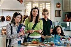 7th Heaven - Lucy, Mary, Simon, and Ruthie. Only missing ones missing of the Camden children in this scene is the oldest Matt, and the youngest, the twins.
