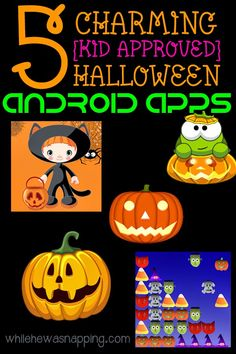 5 Fun Halloween Games for Android in the Google Play Store