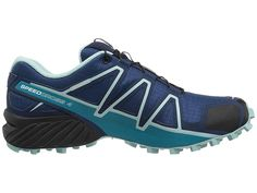 36c790ebf7197 Salomon Speedcross 4 Women s Shoes Poseidon Eggshell Blue Black