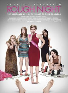 A solid, fun and hysterical movie, ROUGH NIGHT is well worth a watch. Out now from Sony Pictures. Kernel Blake reviews. http://saltypopcorn.com.au/rough-night-review/