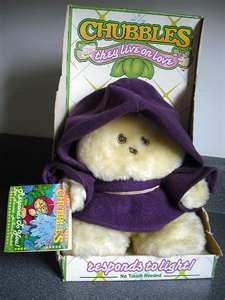 So this is what I had when I was a kid. I always thought it was an Ewok, but apparently it's called a Chubbles!