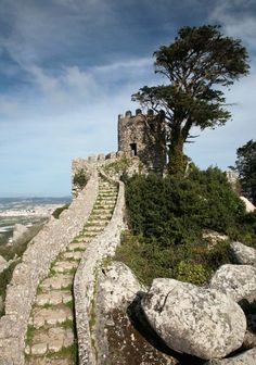 Sintra, one of the neatest places! The foundation is the only remaining original part, I believe from the 800s
