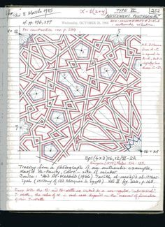Page 162 of 191 Islamic Art Pattern, Arabic Pattern, Geometry Pattern, Geometry Art, Pattern Art, Pattern Design, Arabesque, Motifs Islamiques, Motif Oriental