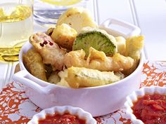 Fingerfood - herzhafte Snacks für Party und Buffet - gemuese-tempura  Rezept