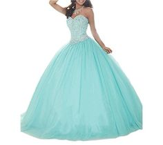 Ikerenwedding Women's Crystal Beaded Ball Gown Sweetheart... http://www.amazon.com/dp/B01F8QMD1O/ref=cm_sw_r_pi_dp_fYtlxb0QV6EDJ
