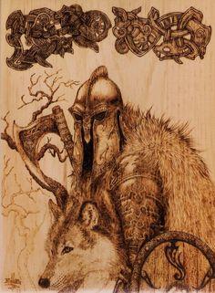Odin and Freki