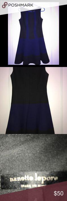I just added this listing on Poshmark: ORIGINAL NANETTE LEPORE NY BLUE AND BLACK DRESS. #shopmycloset #poshmark #fashion #shopping #style #forsale #Nanette Lepore #Dresses & Skirts