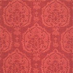 Thibaut wallpaper PatternISTANBUL DAMASK  Wallpaper CollectionTamarind ColorwayRed