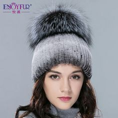 Rabbit fur cap