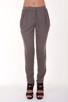 Grey Pleated pants-Pants-cotton pants,high waist pants,casual pants,cropped pants,printed pants,skinny pants,sexy pants,stretch pants , cropped pants,cotton classic trouser,leather pants,cotton capri pants,lounge pants$16.95