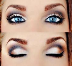 30 Great Eye Makeup Ideas For Blue Eyes! Check These Out! #Beauty #Trusper #Tip