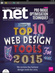 Sensational #design and superb #development in net magazine! Get the app here: http://www.magvault.com/Magazine/net