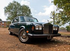 Got to take my uncle's Rolls Royce Silver Shadow II out today for a little photo shoot to mainly show how background effects pictures for my school project. Classic Rolls Royce, Rolls Royce Silver Shadow, Rolls Royce Motor Cars, English Countryside, Life Inspiration, Antique Cars, Classic Cars, Automobile, Photoshoot