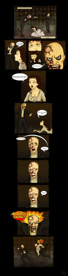 If Christine had done in POTO what Erik did in LND. it should have ended this way.