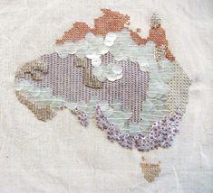 #Australia embroidery