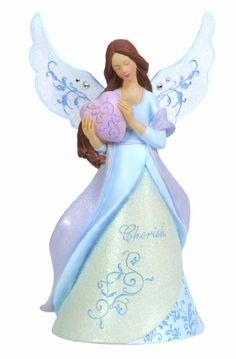 Precious Moments Cherish Angel Figurine - http://www.preciousmomentsfigurines.org/angels/precious-moments-cherish-angel-figurine/