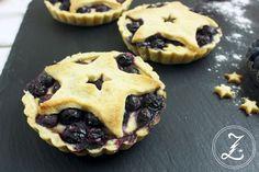 Li-La-Laune Pies mit Blaubeeren und Puddingcreme by Zuckergewitter #ichbacksmir #blaubeeren