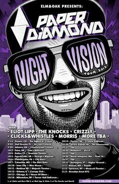Paper Diamond Night Vision Tour
